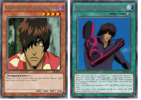 Chad's Duel Spirit Cards