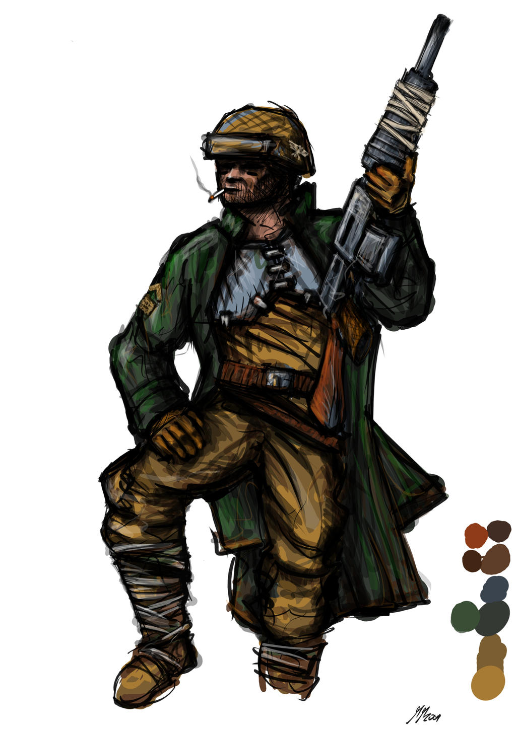 Cadian Regular No.1 by maddog1138