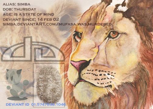 simba's Profile Picture