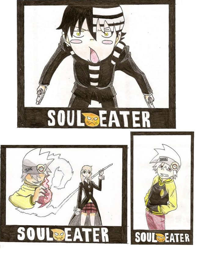 Soul Eater Fan Art By Spl3nd0ra