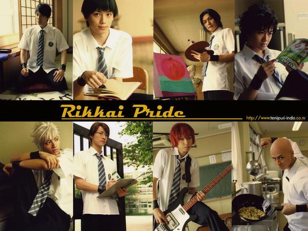 tenimyu: Rikkai Pride wall by Cairy