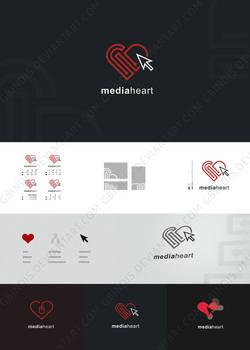 Mediaheart logotype