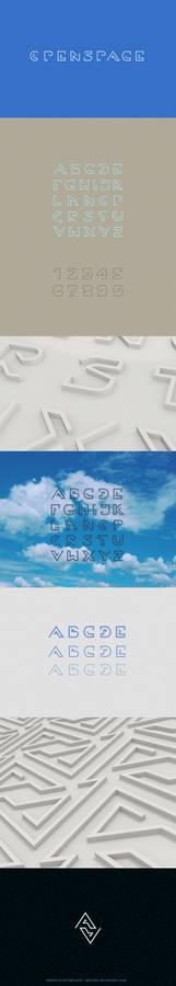 Openspace font design