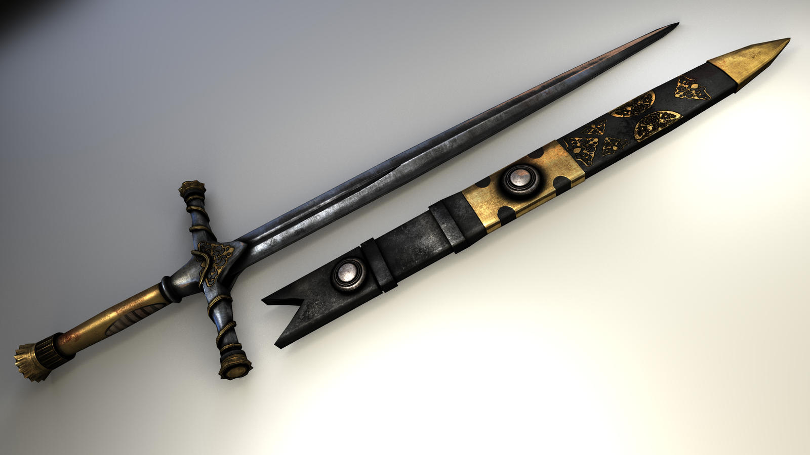 Jaime Lannister's Sword by dazzerfong on DeviantArt