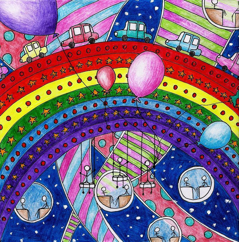18. Rainbow by Takluna