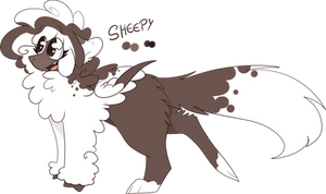 OC: Sheepy by SnowySeal