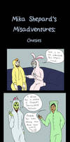 Mika Shepard's Misadventures: Onesies by Hunchdebunch