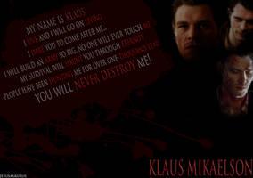 Klaus Mikaelson TVD - Wallpaper by Jesusasaurus