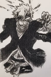 Hollow Ichigo Charcoal