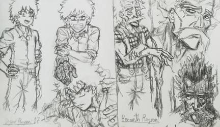 New character idea by BerserkAsura