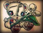 Teddy Bear Memorial Tattoo