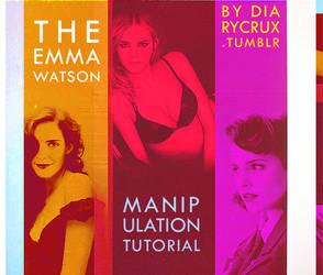 Emma Watson MANIPULATION tutorial by Sx2