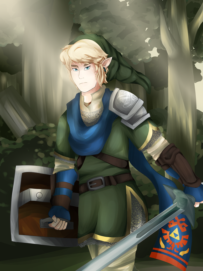 Hyrule Warrior Link (Face Redo) by FrenchiestToast