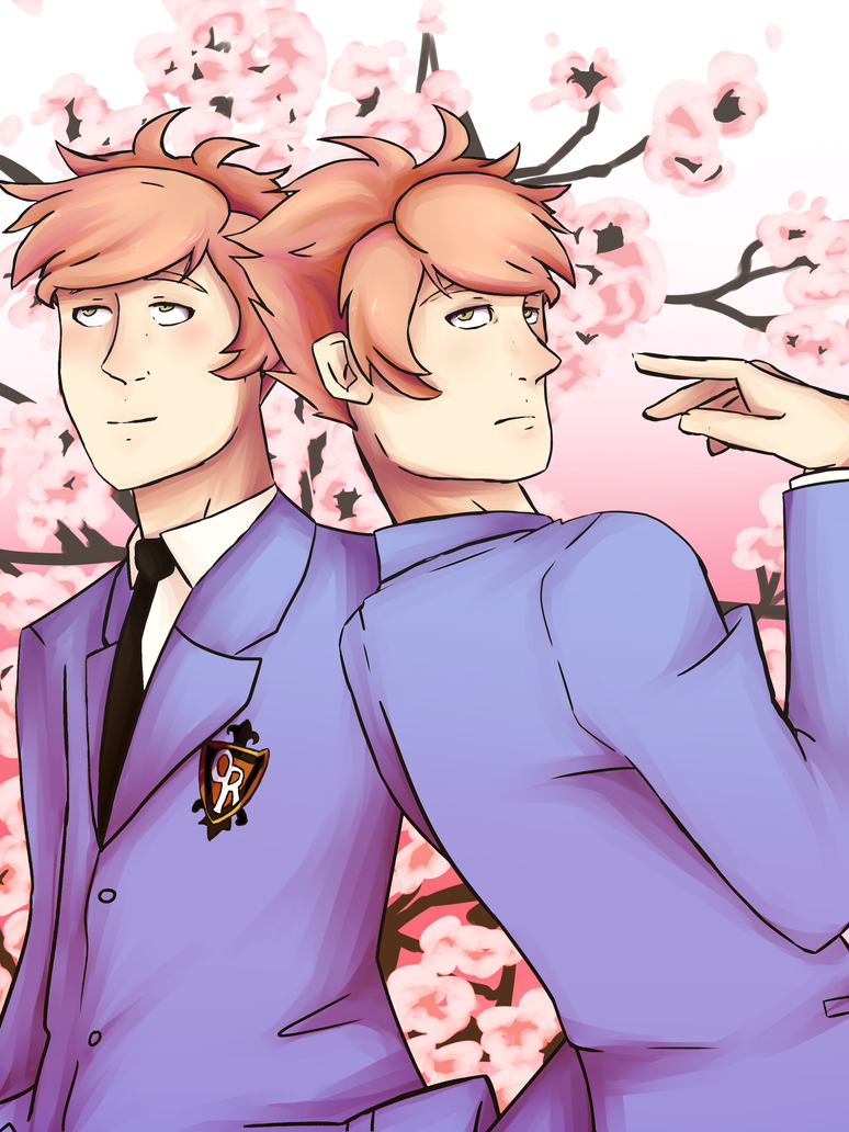 Ouran High School Host Twins by FrenchiestToast