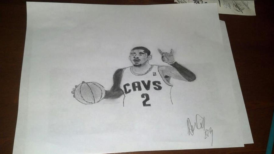 best service 5307a a877b Kyrie Irving Drawing by titanbam1 ...