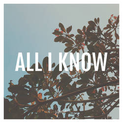 Cover Art - All I Know