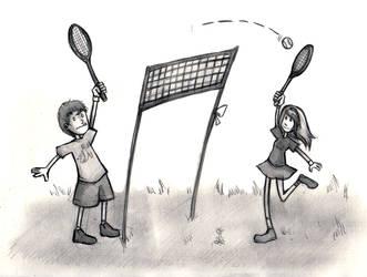 $5 Sketches - Tennisu by matilda-caboose