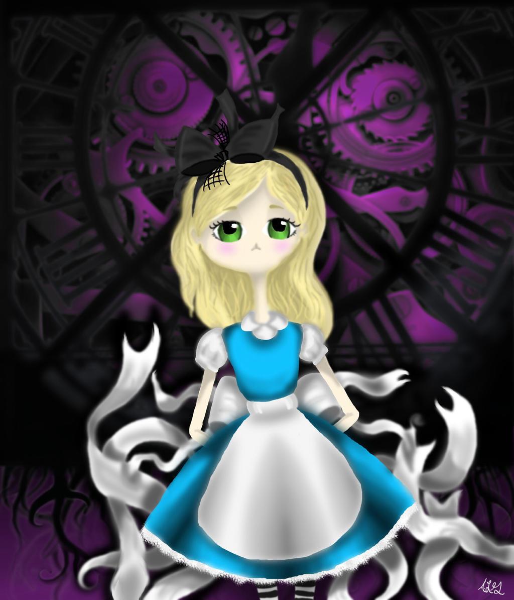 Alice in Wonderland by WonderlandSeaMonster