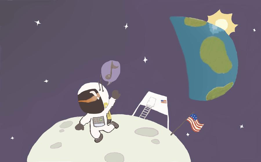 chibi astronaut - photo #8