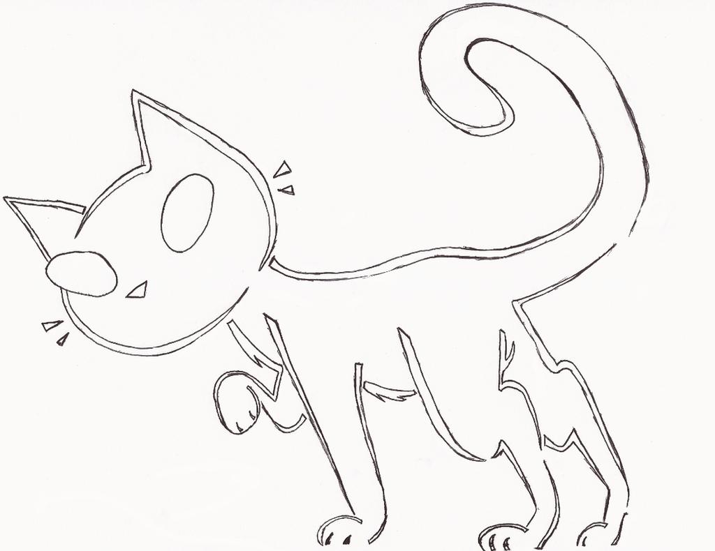 Cat JackOLantern Stencil by beeZah on DeviantArt
