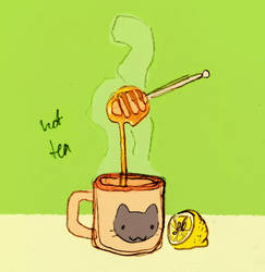 some hot tea by beeZah