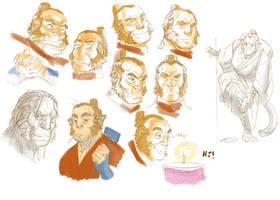 random Zhao faces by njay