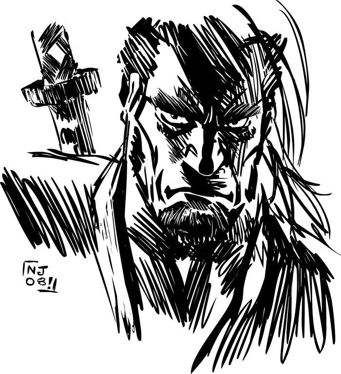 Samurai Glare by njay