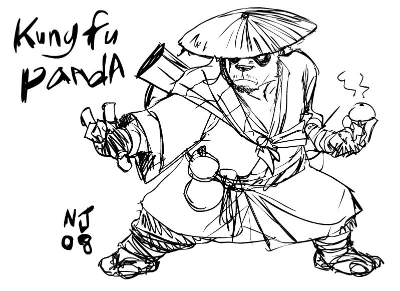 Kungfu Panda By Njay