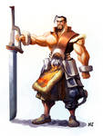 Fantasy Zero Warrior
