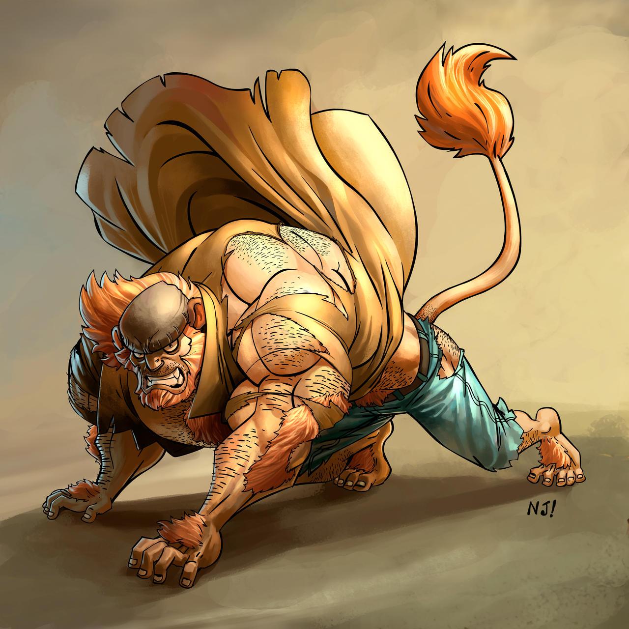 Werewolf vs weretiger - photo#38