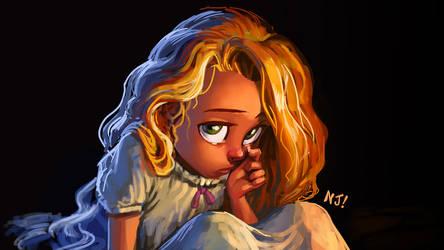 Lil' Rapunzel by njay