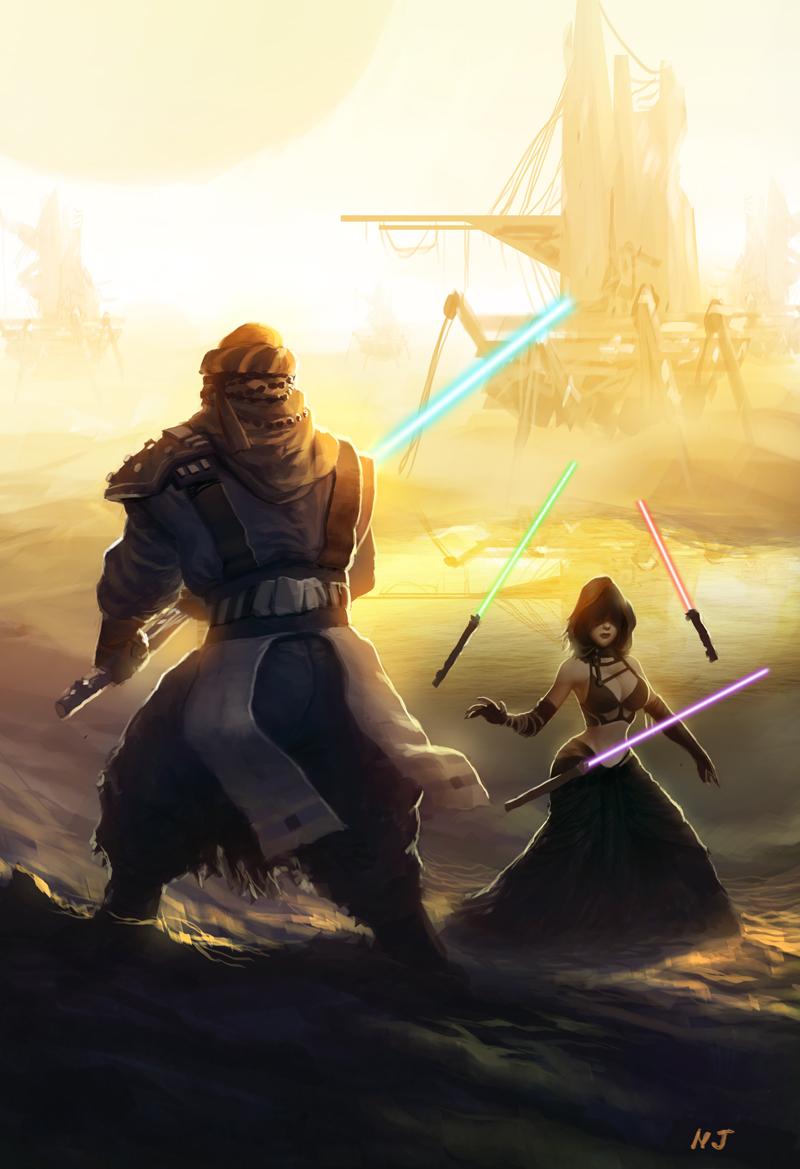 Perang Bintang by njay