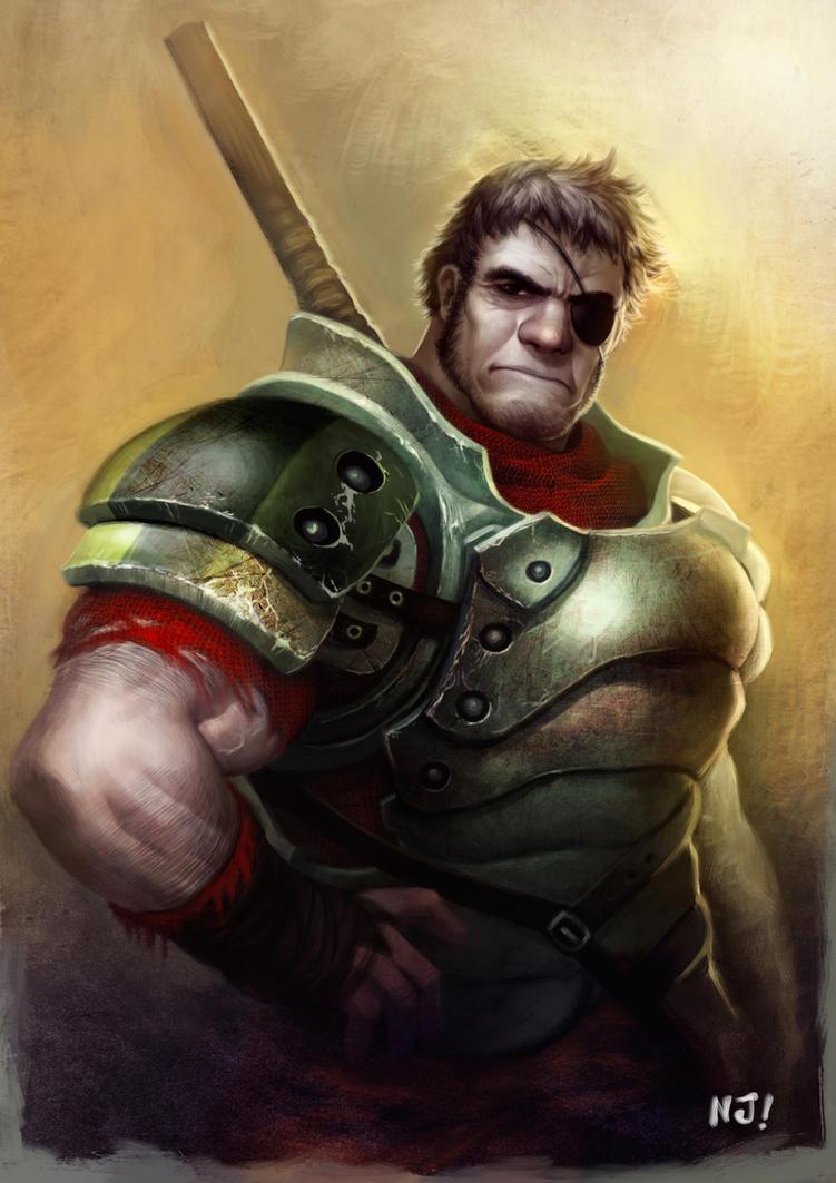 Mercenary For Hire by njay