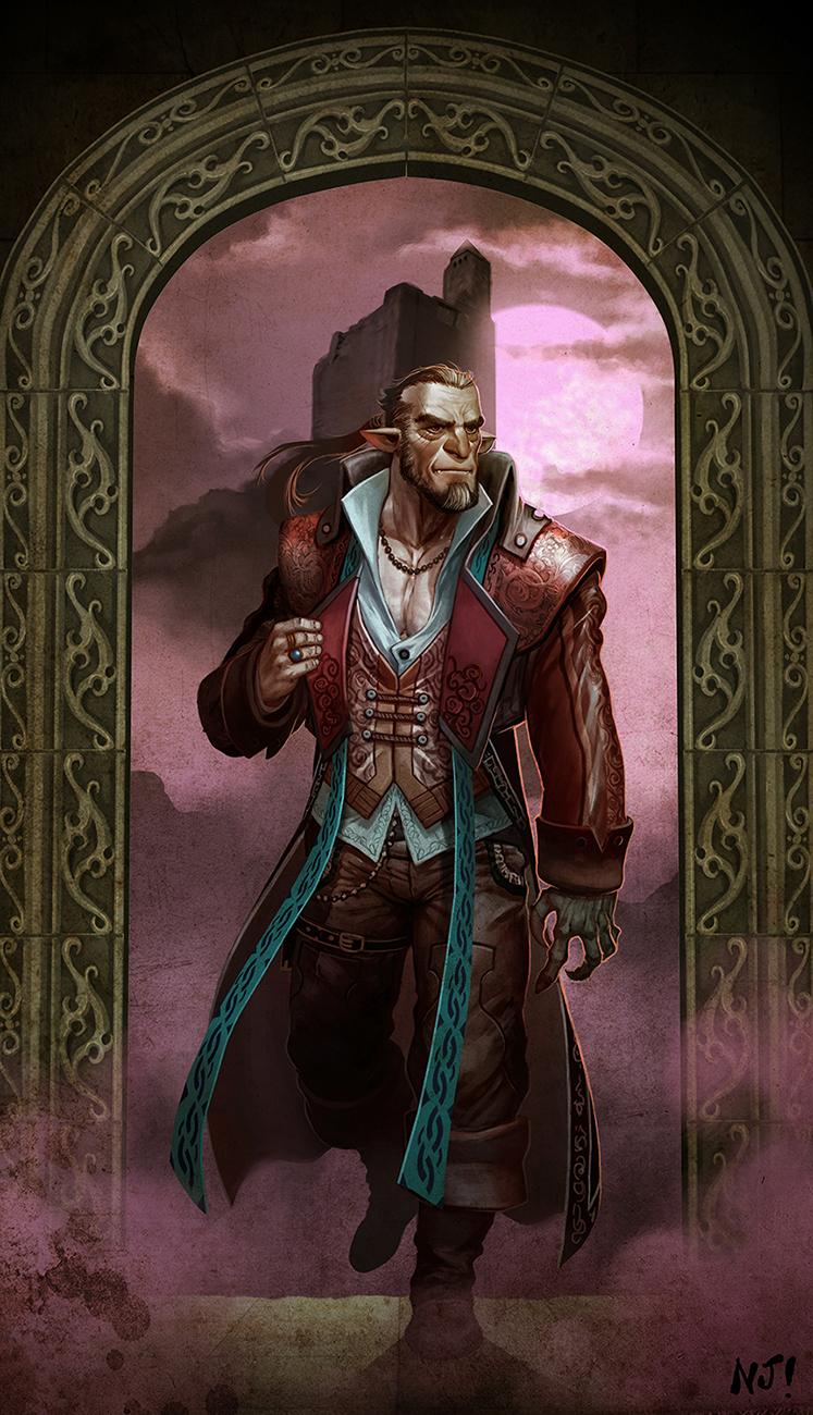 Fragmentos de Misiones - Página 2 Vampire_thru_a_portal_by_njay-d7amfjv