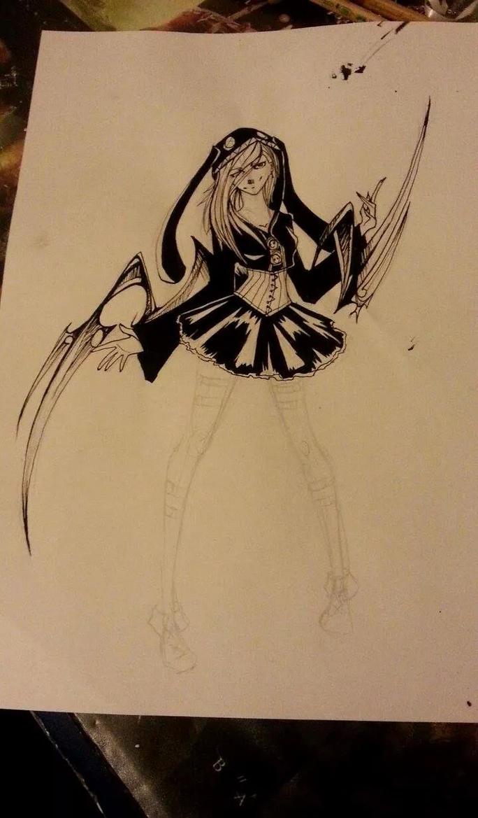 [ Tokyo ghoul ] WIP Cinderella by AlexMercer-Sara123