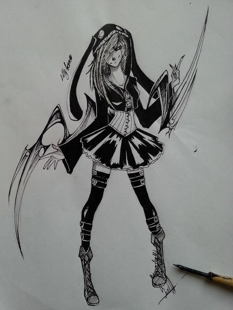 [ Tokyo ghoul ] Lilly Sorrow by AlexMercer-Sara123