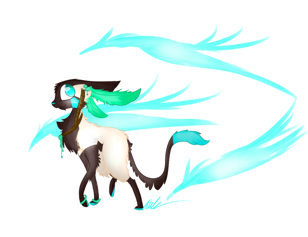 Runi's Spirits by leafeoneve3
