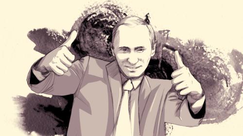 Vladimir Vladimirovich Putin by mrputin666