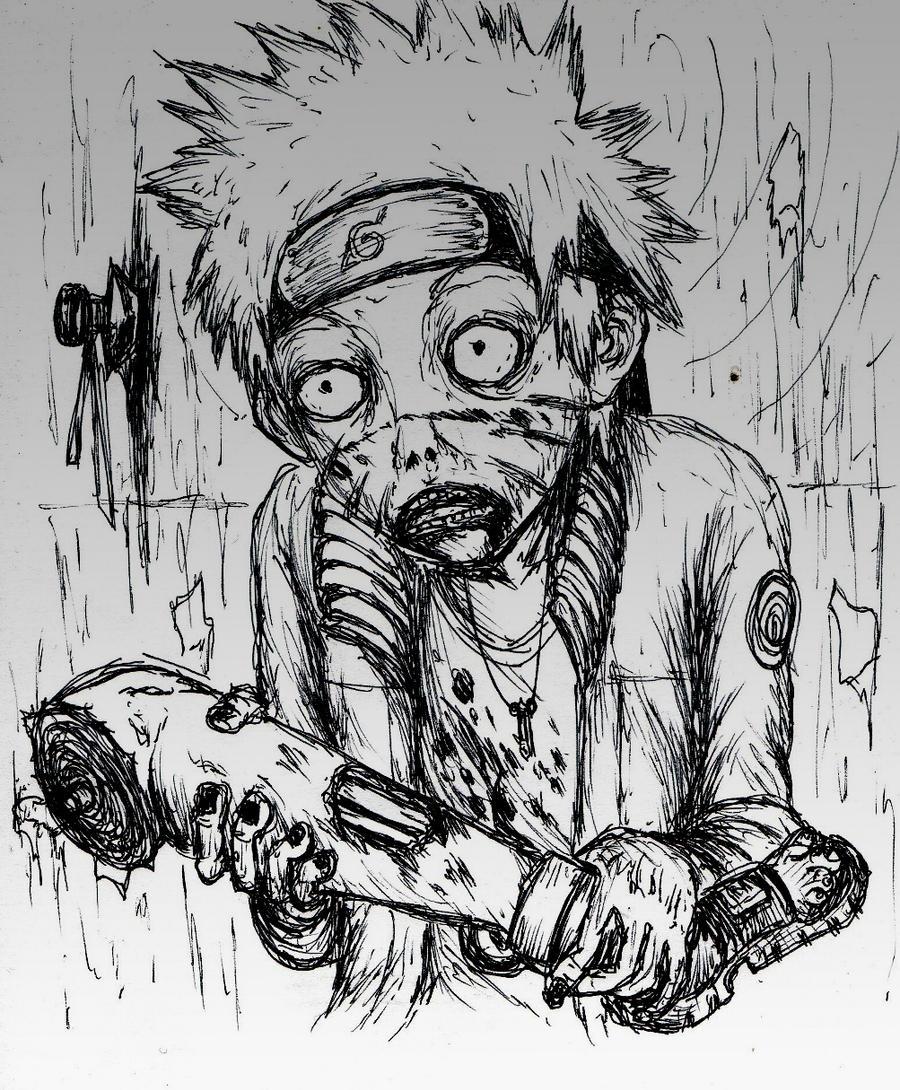 NARUTO: zombies by Kokakud-Master on DeviantArt