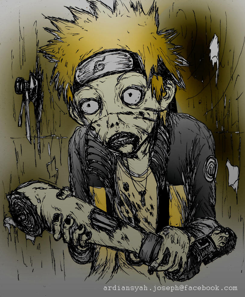 Naruto Zombies   Sora transformation - Let the bodies hit the ...