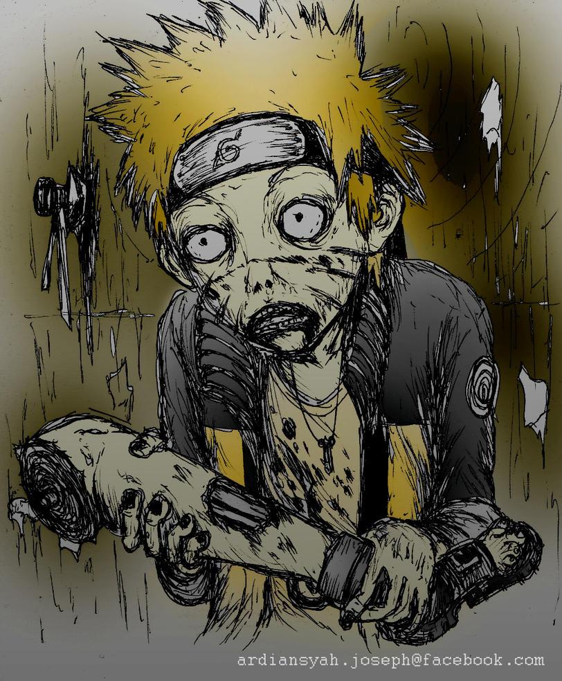 картинка наруто зомби затем запросит ввести