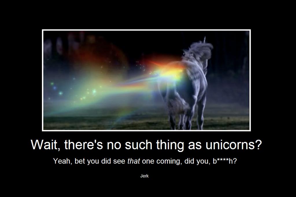 Supernatural DeMot Poster: Unicorns by AnonAmanda