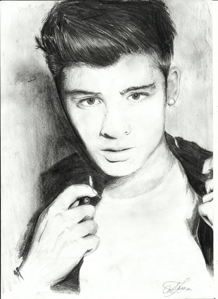 Zayn Malik Pencil Drawings Zayn Malik Drawing