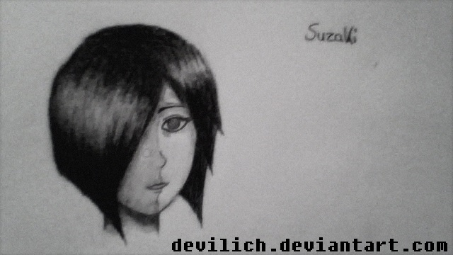 Suzaki - scribble 1# by Devilich
