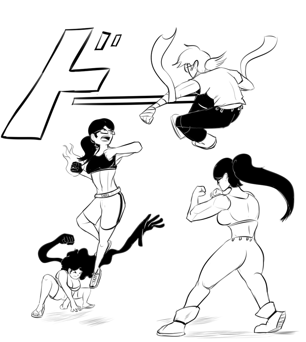 Showdown by lucy-fuchs