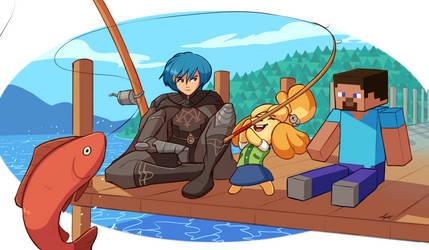Fishing [Commission]