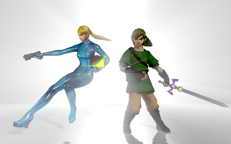 zero suit samus and link kiss - photo #24
