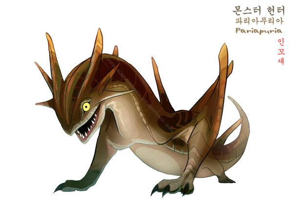 Monster Hunter Pariapuria by macawnivore
