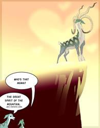 Monster Hunter Mountain Spirit by macawnivore