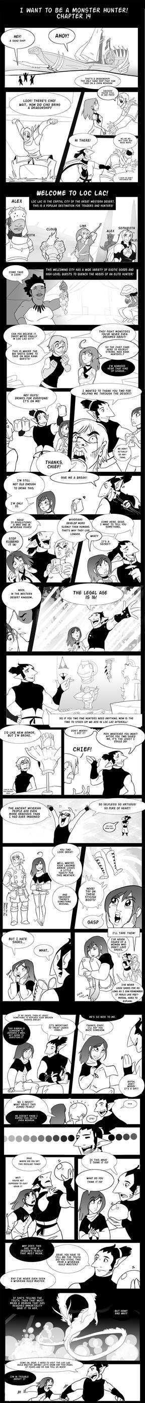 Monster Hunter Comic Ch 14-1 by macawnivore